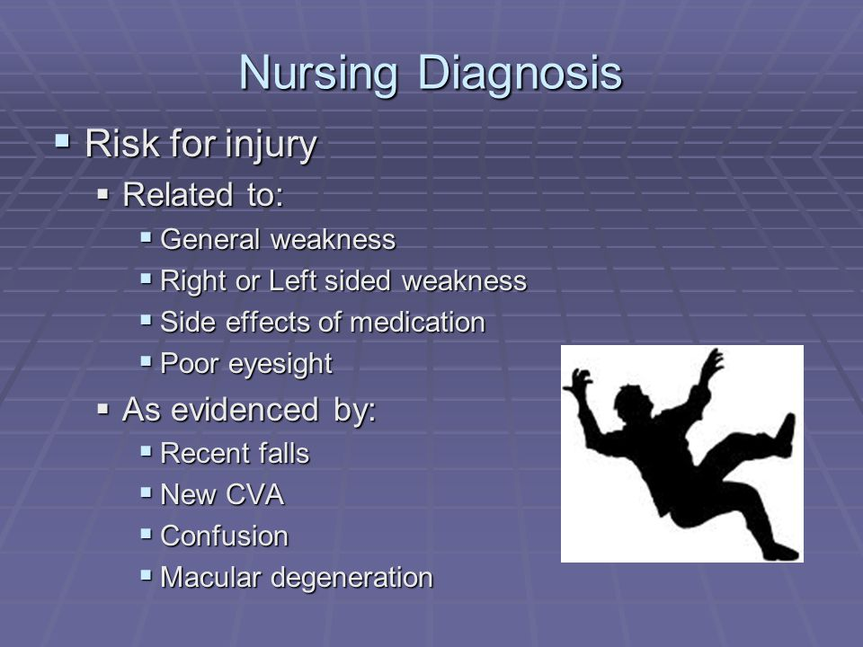 nursing risk injury Health care work is highly physically/posturally demanding, 54, 58, 59 and tasks requiring heavy lifting, bending and twisting, and other manual handling have been implicated in health care worker back injuries 60 in one study, nurses were found to be at particular risk of back injury during patient transfers, which require sudden movements in .