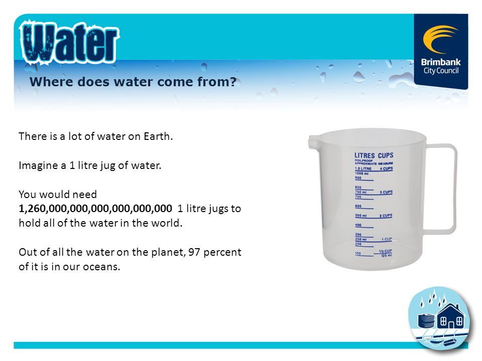 Where does water come from