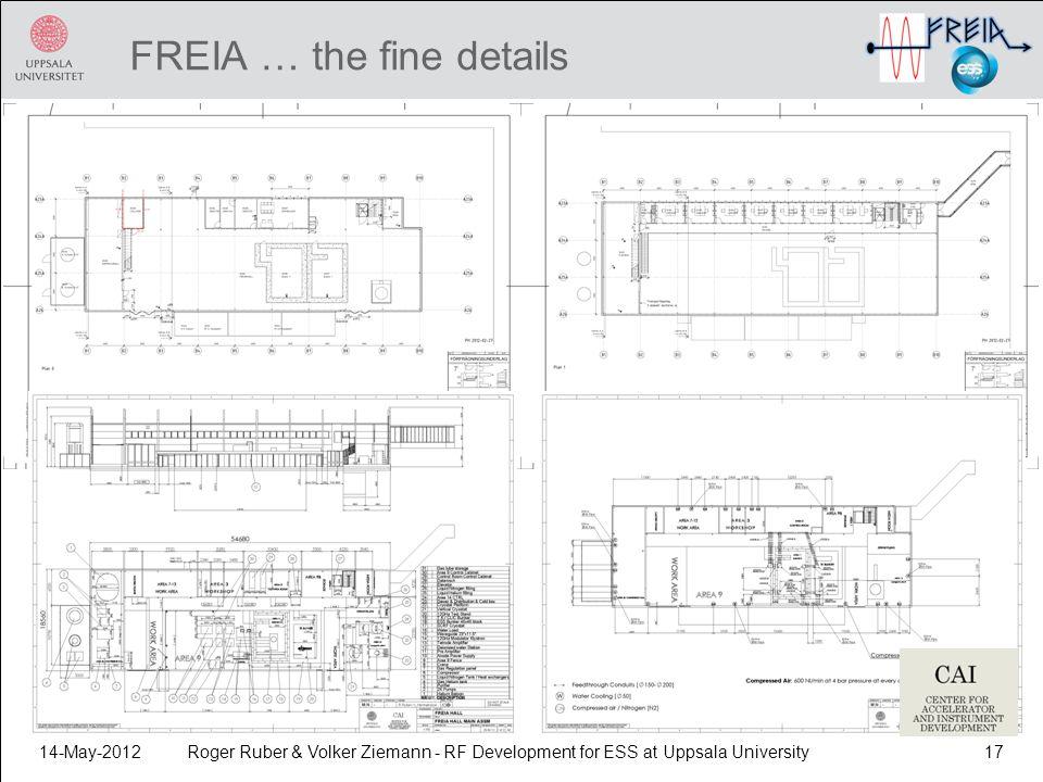 FREIA … the fine details