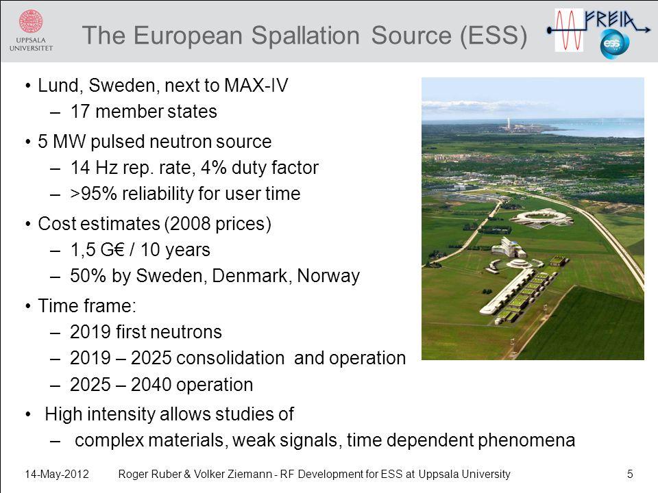The European Spallation Source (ESS)