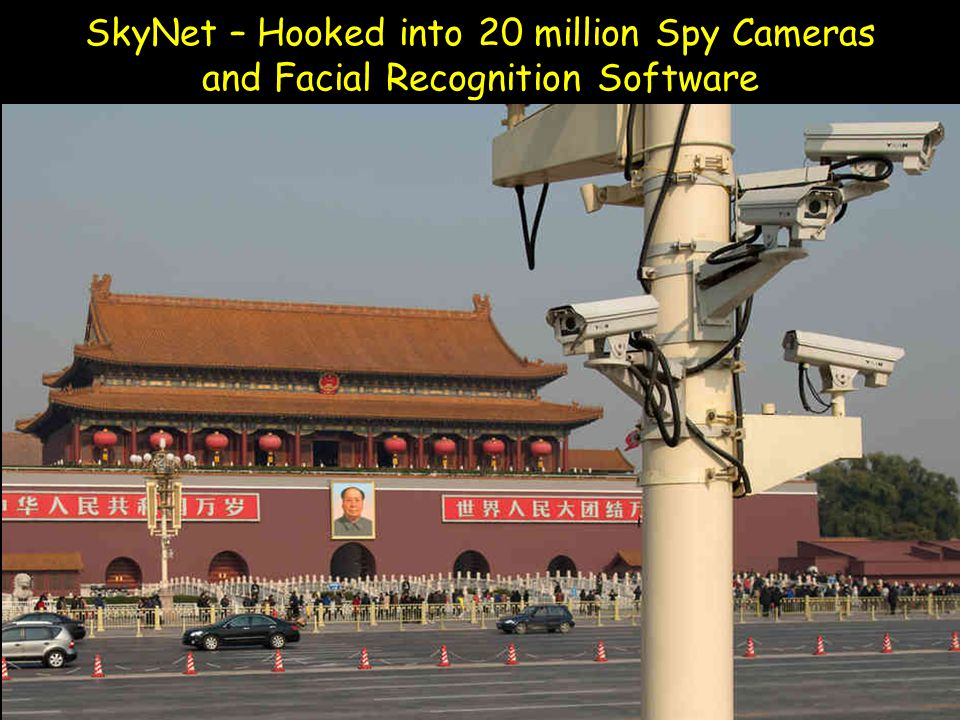 SkyNet – Hooked into 20 million Spy Cameras and Facial Recognition Software