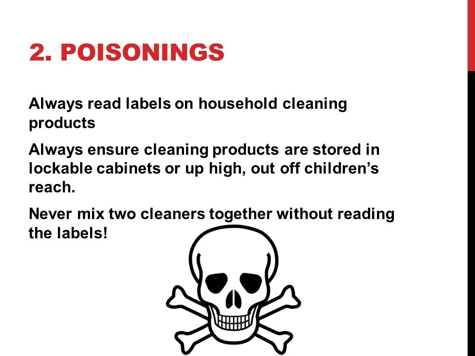 2. Poisonings