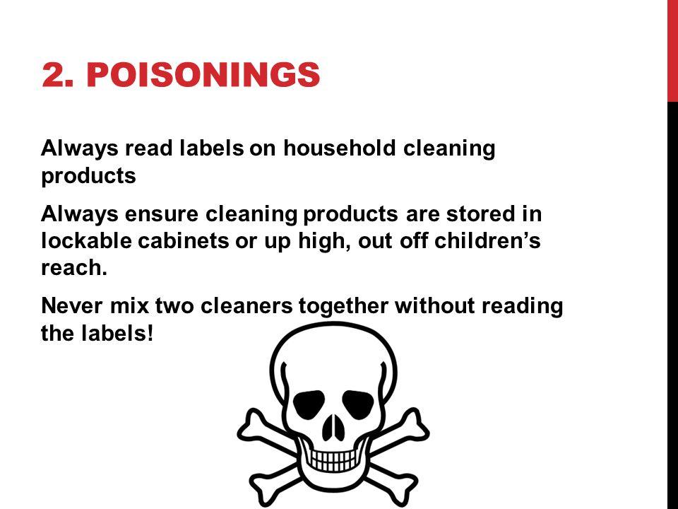 2. Poisonings