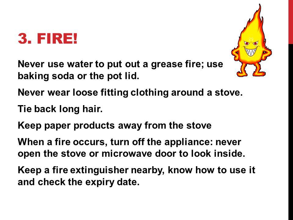3. Fire!