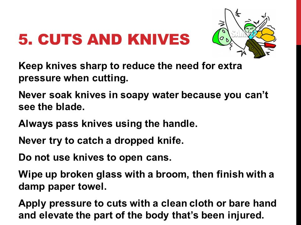 5. Cuts and Knives