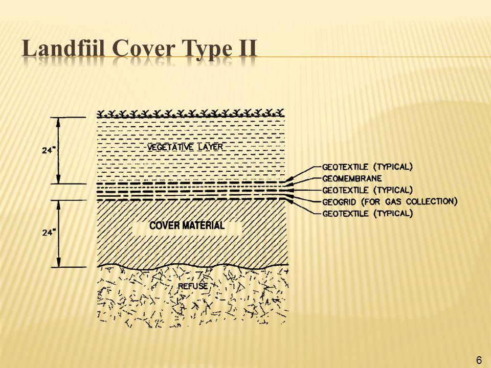 Landfiil Cover Type II