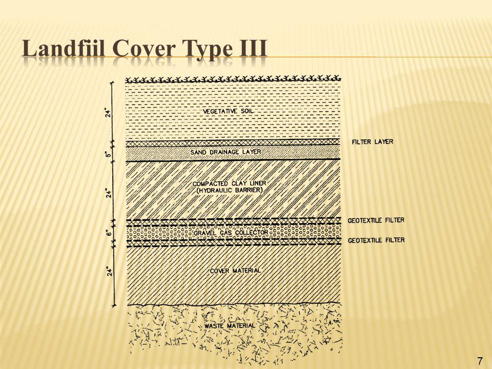 Landfiil Cover Type III