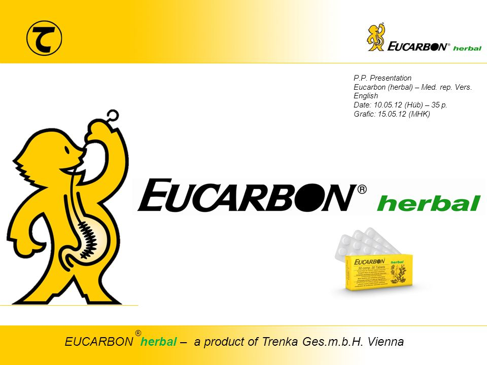 EUCARBON herbal – a product of Trenka Ges.m.b.H. Vienna