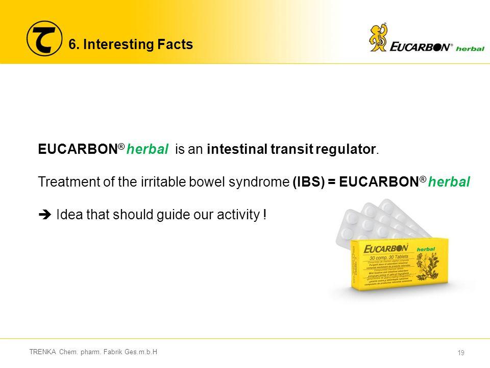 EUCARBON® herbal is an intestinal transit regulator.