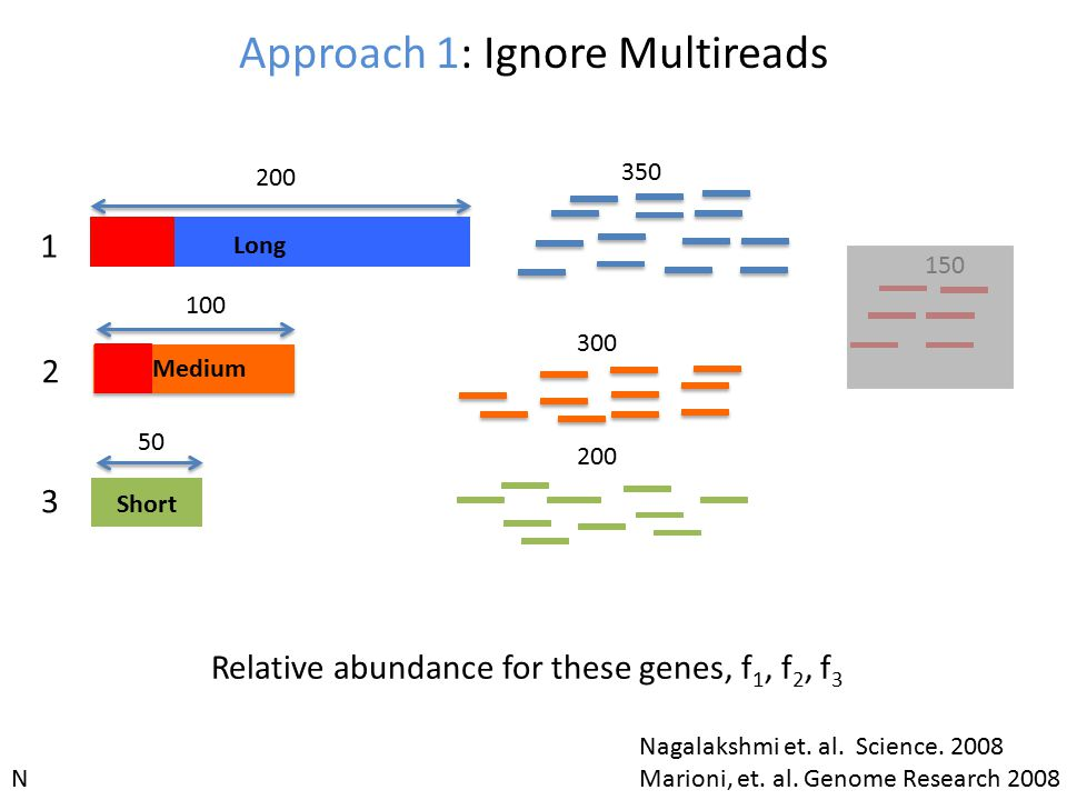 Approach 1: Ignore Multireads