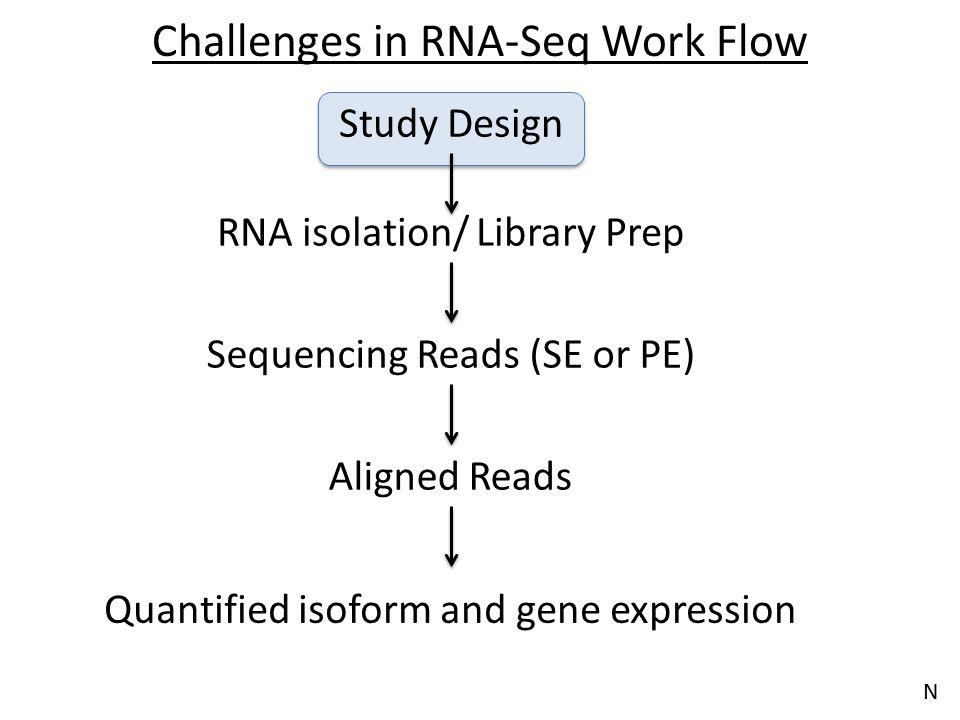 Challenges in RNA-Seq Work Flow