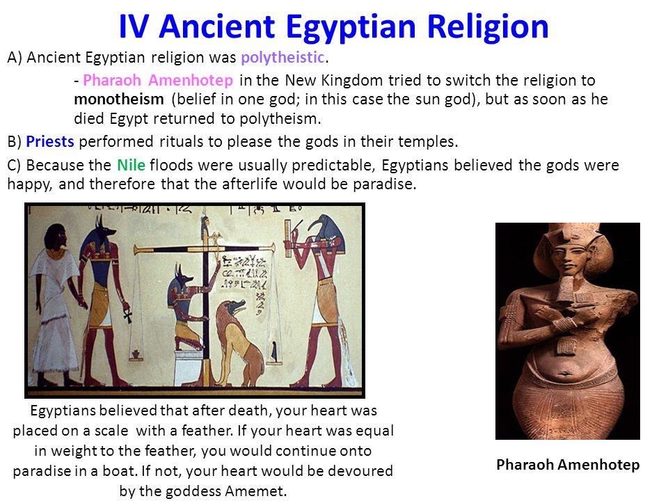 IV Ancient Egyptian Religion