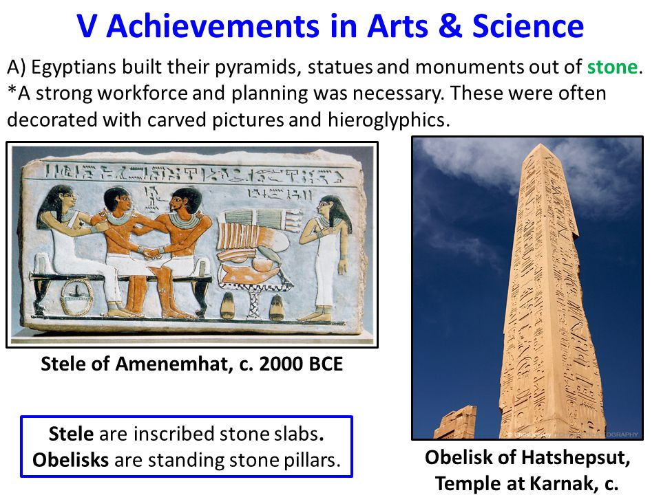 V Achievements in Arts & Science