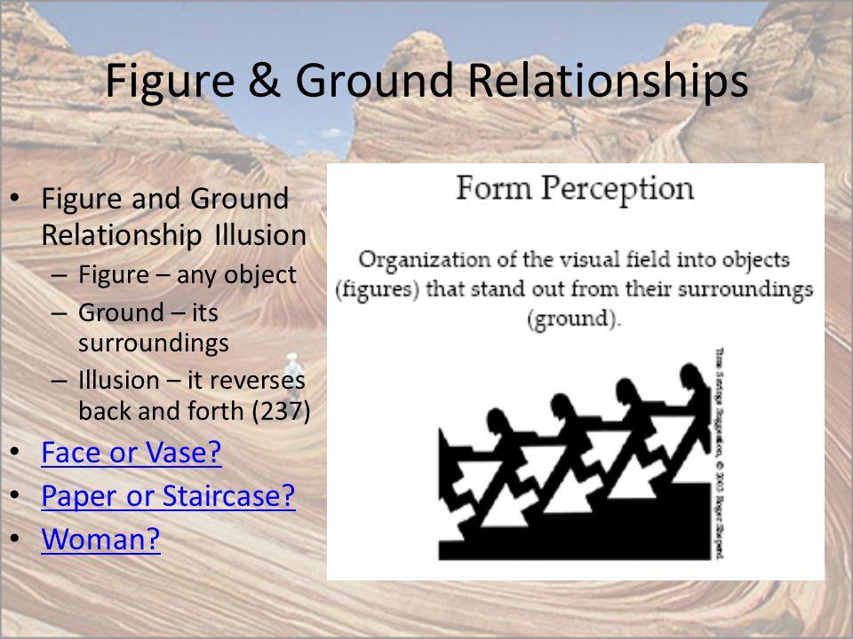 Figure & Ground Relationships