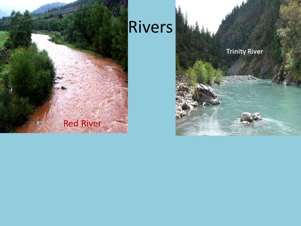 Rivers Trinity River Red River