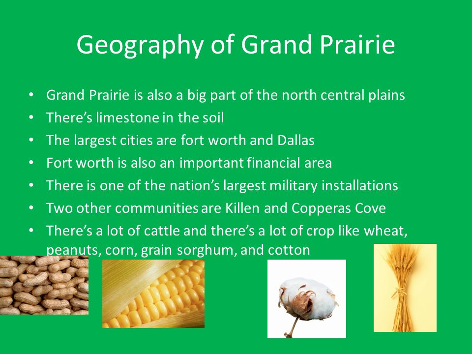 Geography of Grand Prairie