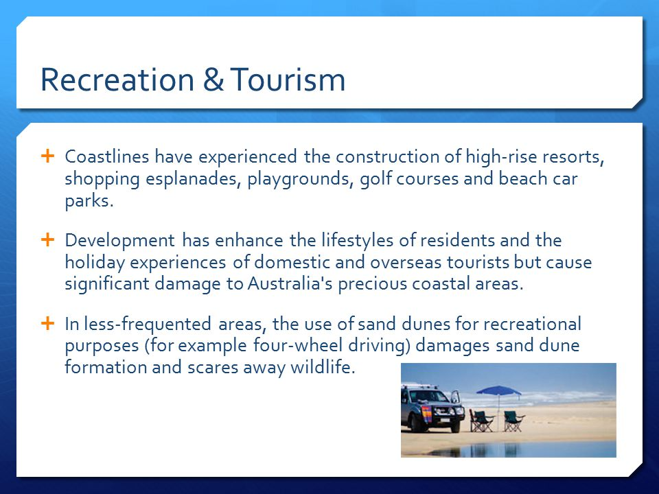 Recreation & Tourism