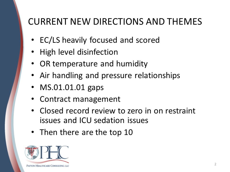 CURRENT NEW DIRECTIONS AND THEMES