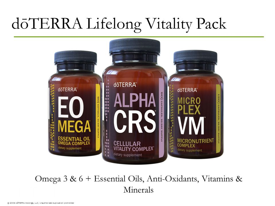 Omega 3 & 6 + Essential Oils, Anti-Oxidants, Vitamins & Minerals
