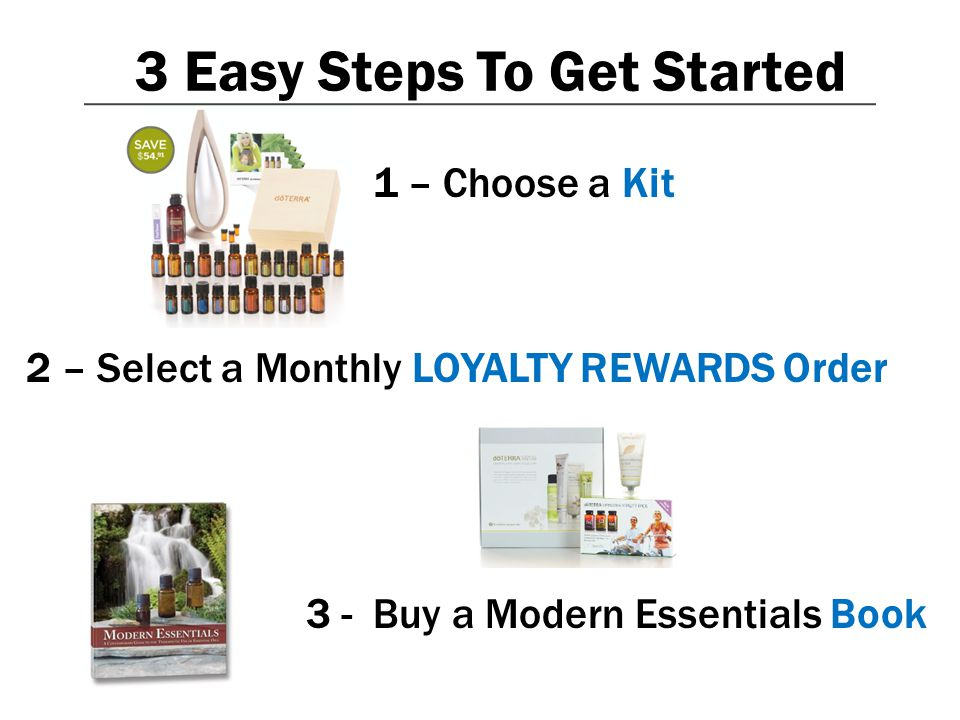 3 Easy Steps To Get Started