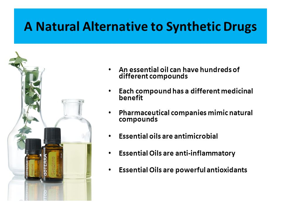 A Natural Alternative to Synthetic Drugs