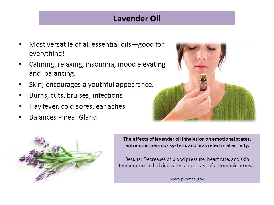 Lavender Oil Most versatile of all essential oils—good for everything!