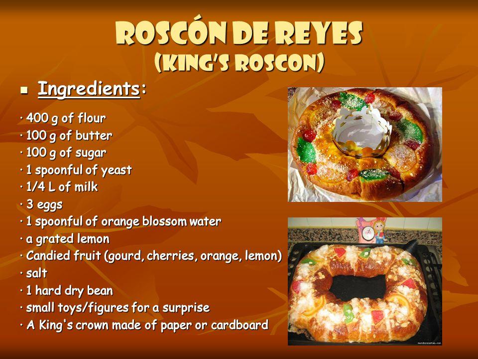 Roscón DE REYES (king's roscon)