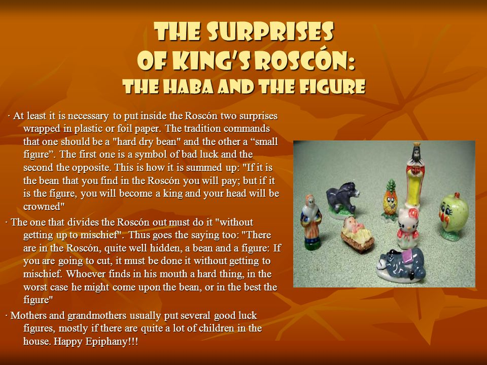 The surprises of King's Roscón: the haba and the figure
