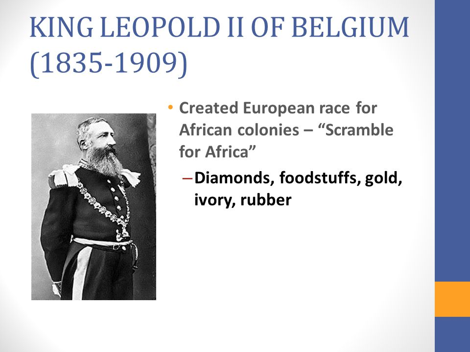 KING LEOPOLD II OF BELGIUM (1835-1909)