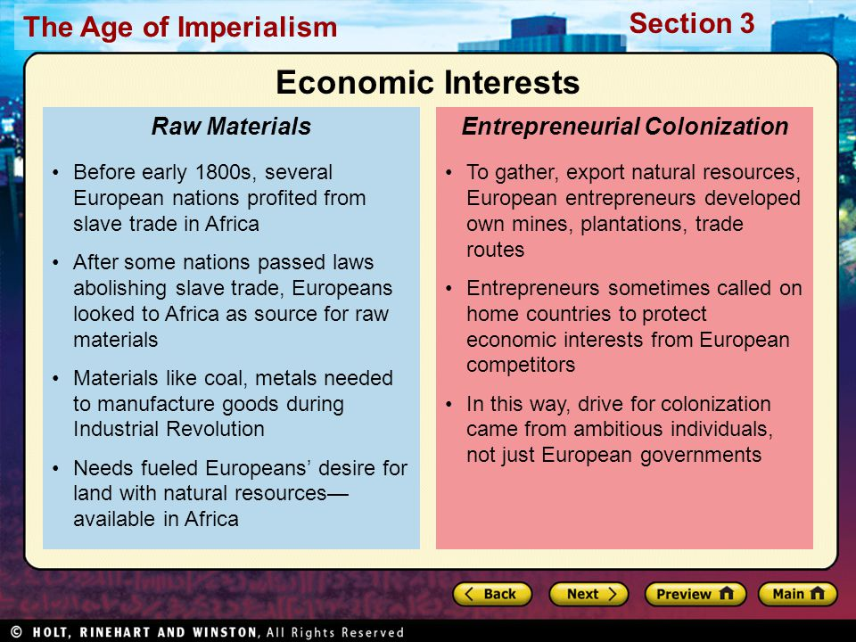 Entrepreneurial Colonization