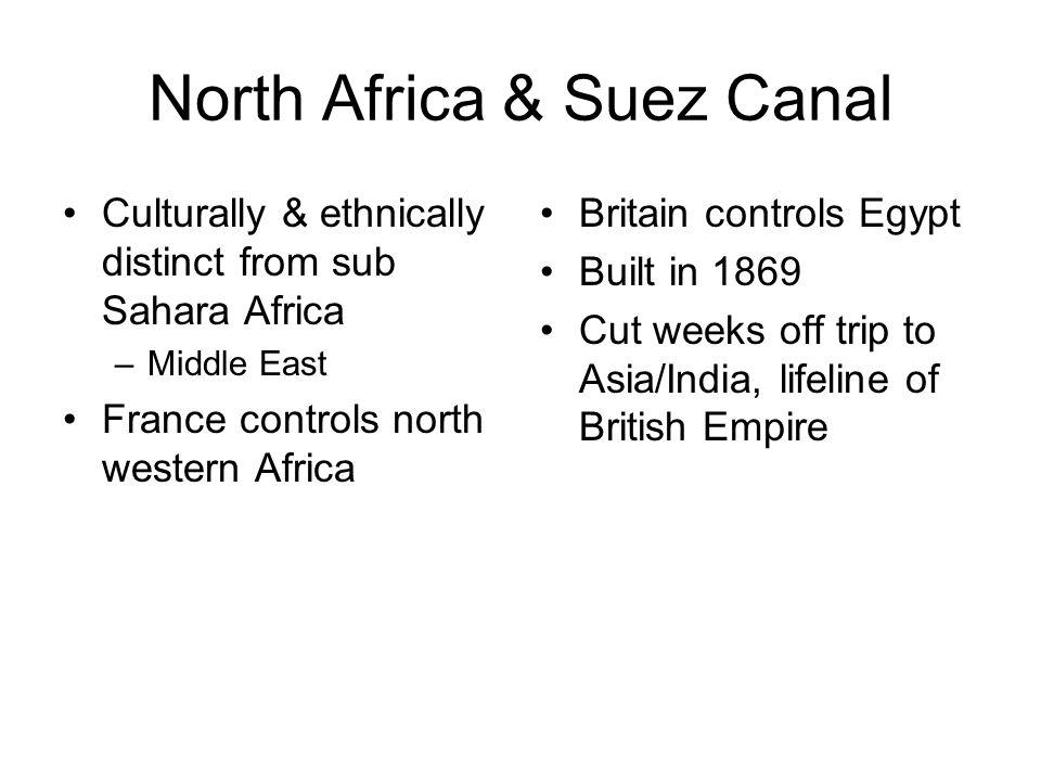 North Africa & Suez Canal