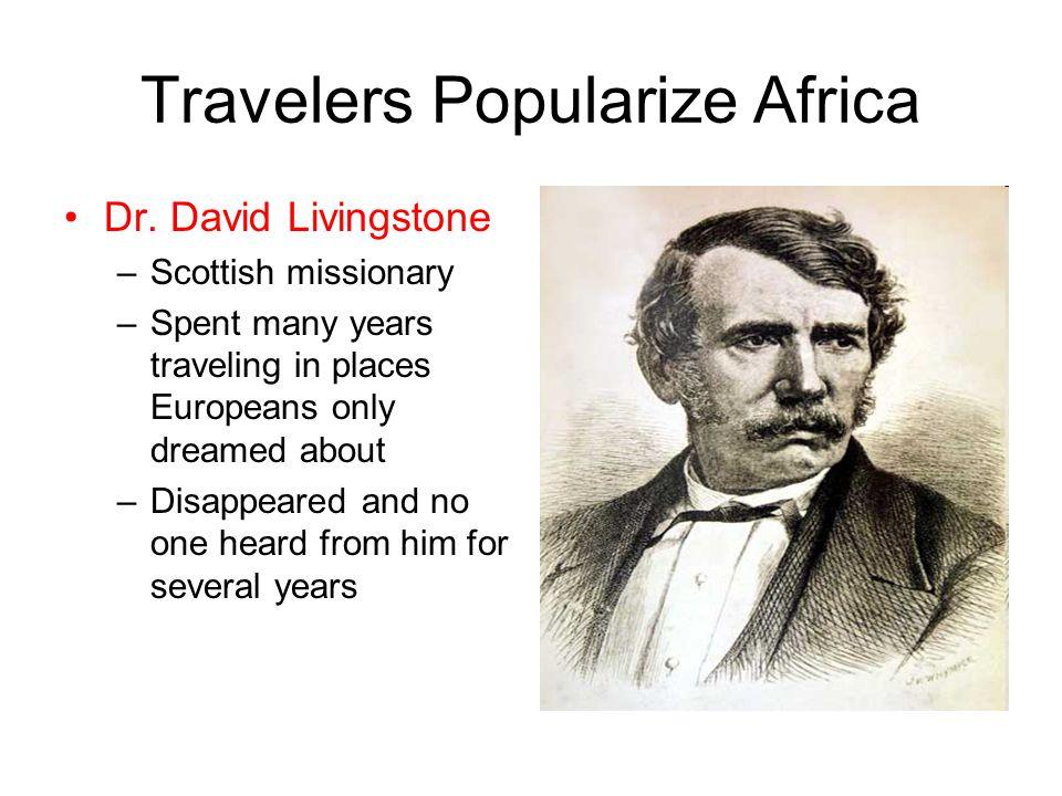 Travelers Popularize Africa