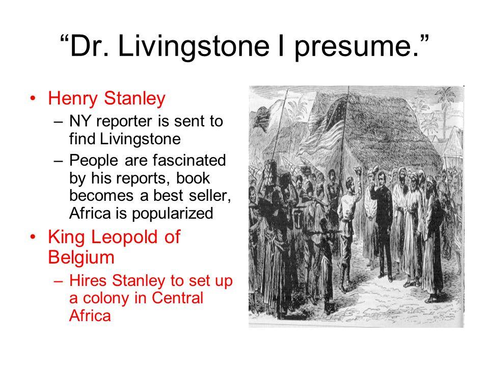 6 U201cDr. Livingstone I Presume.  Dr Livingstone I Presume Book