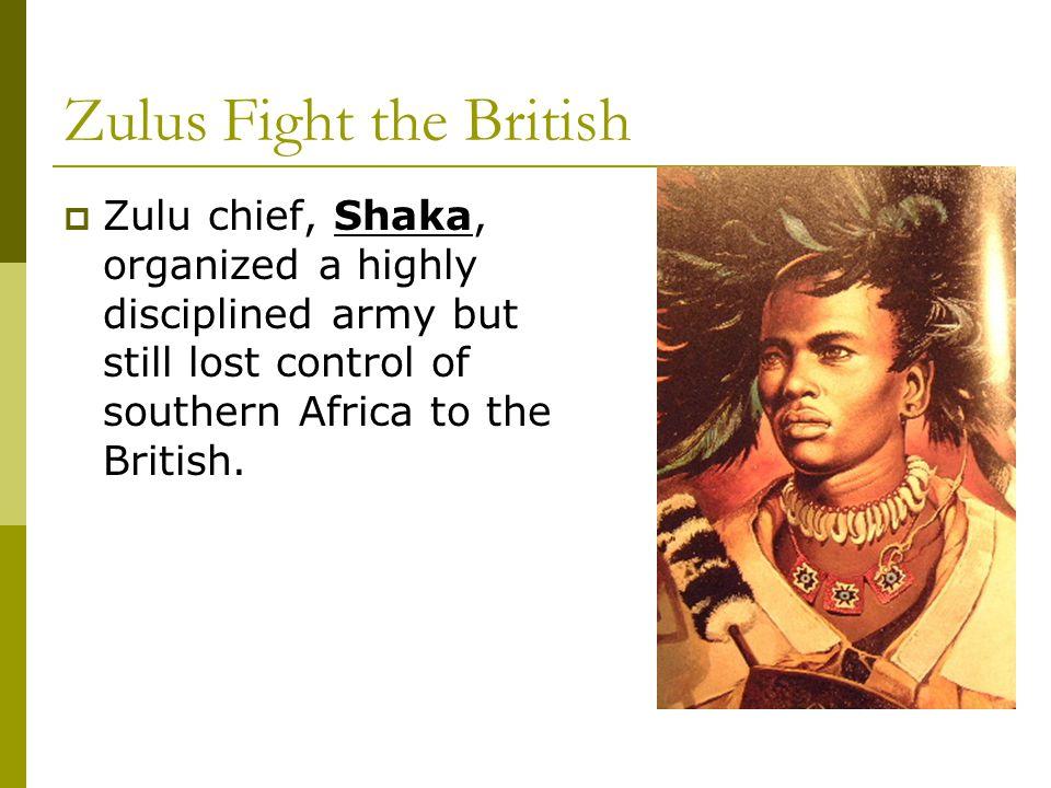 Zulus Fight the British