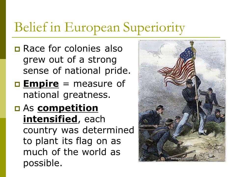 Belief in European Superiority