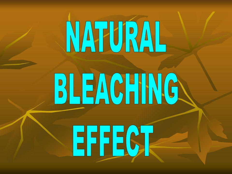 NATURAL BLEACHING EFFECT