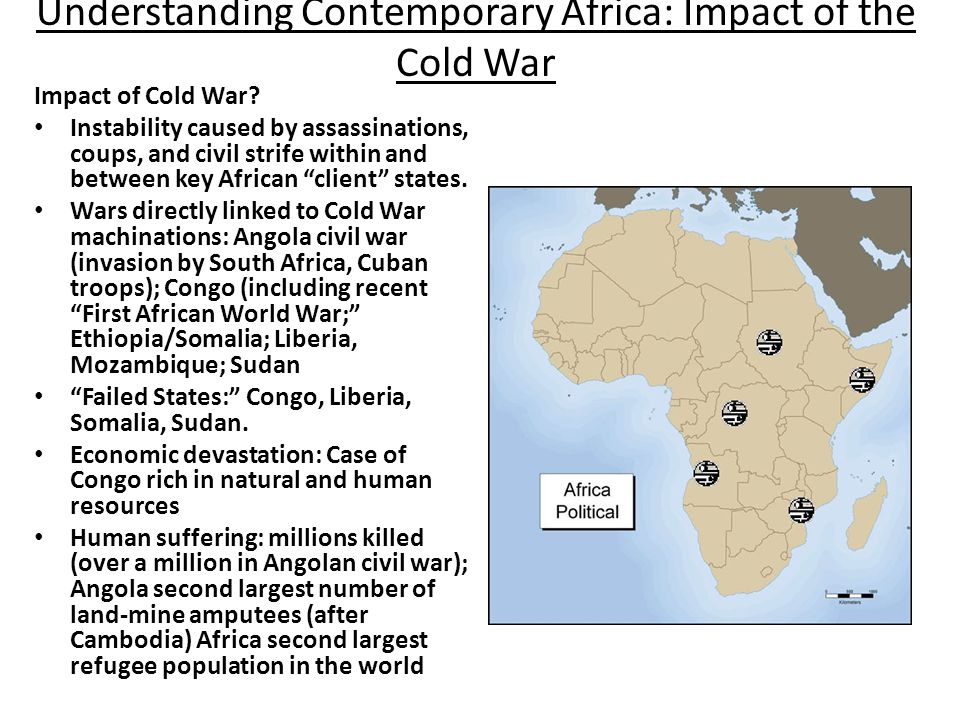 Understanding Contemporary Africa: Impact of the Cold War