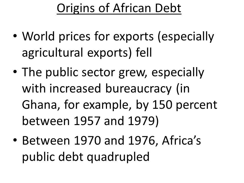 Origins of African Debt
