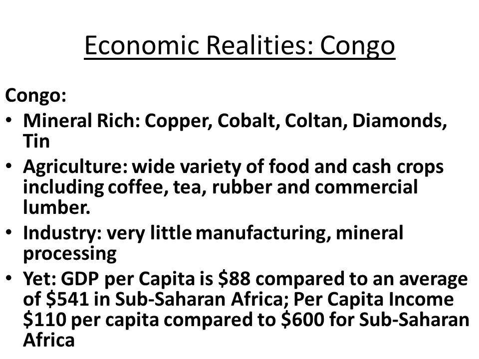 Economic Realities: Congo