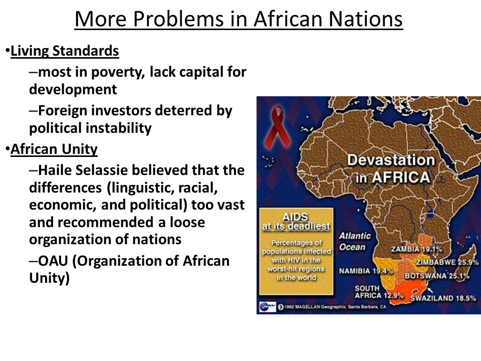 More Problems in African Nations