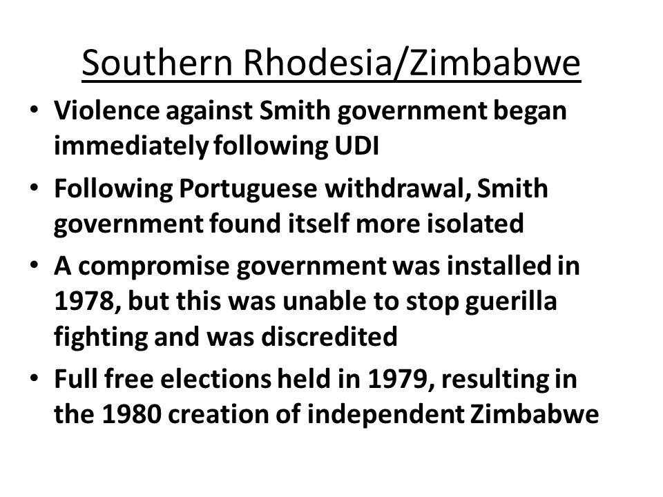 Southern Rhodesia/Zimbabwe