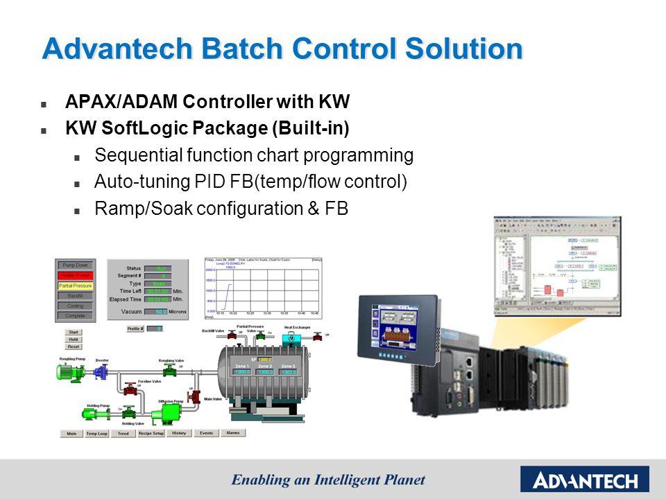 Advantech Batch Control Solution