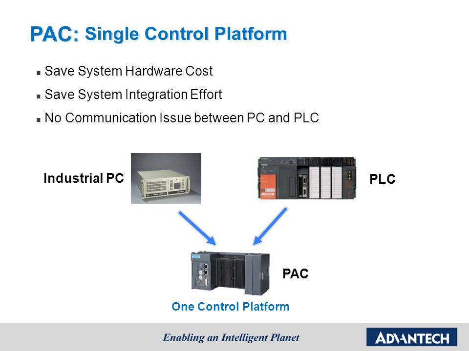 PAC: Single Control Platform