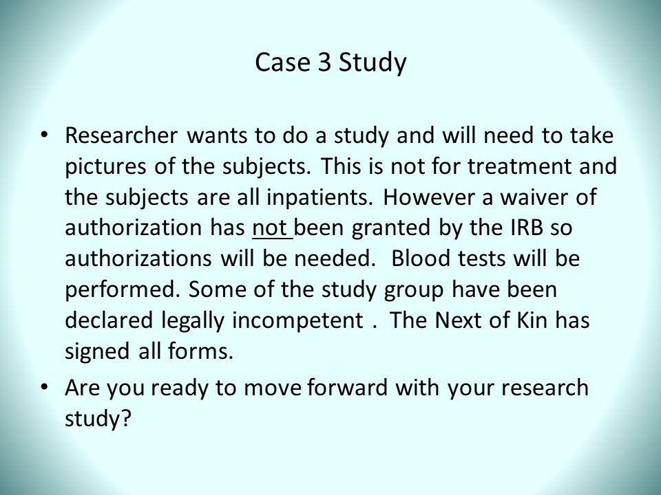 Case 3 Study