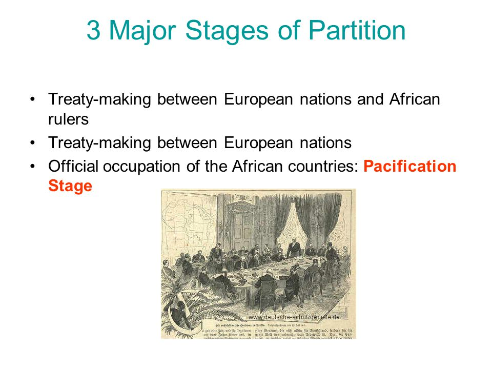 3 Major Stages of Partition