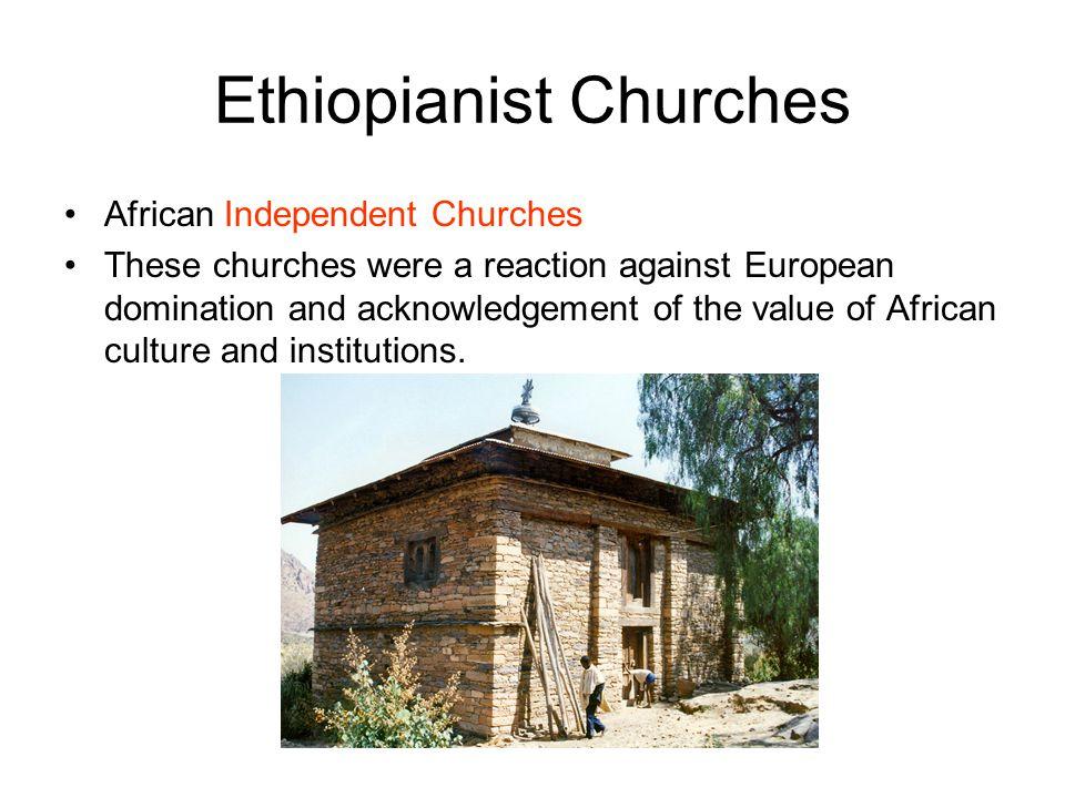 Ethiopianist Churches