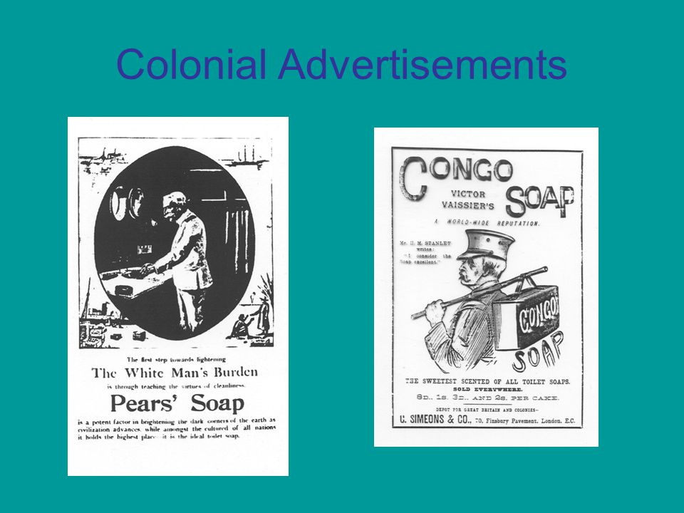 Colonial Advertisements