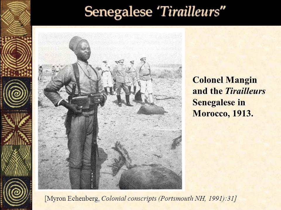 Senegalese 'Tirailleurs