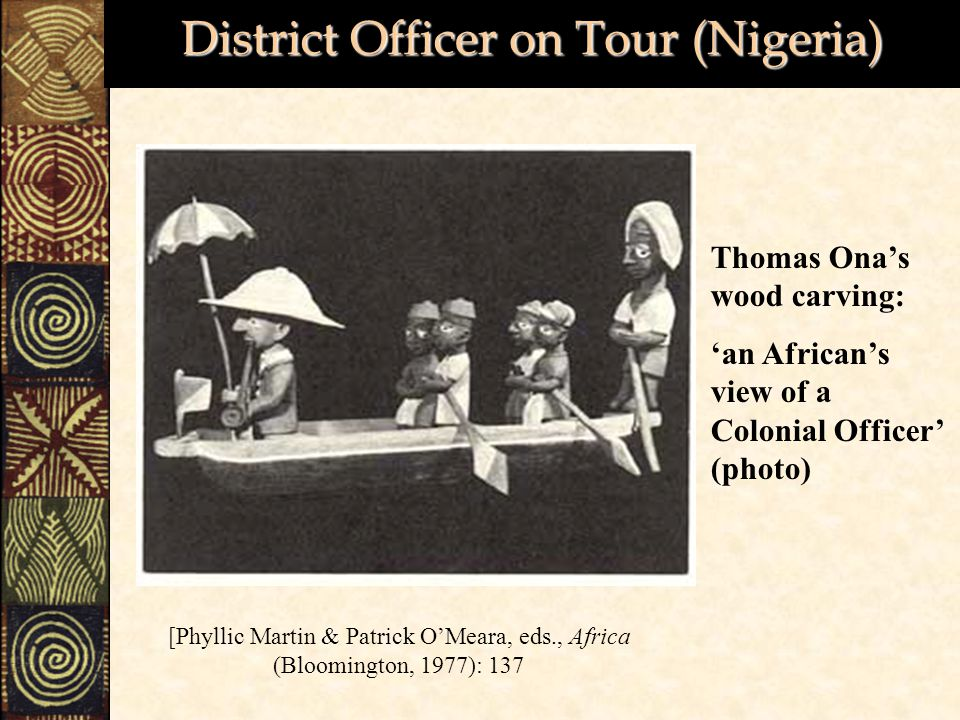 District Officer on Tour (Nigeria)