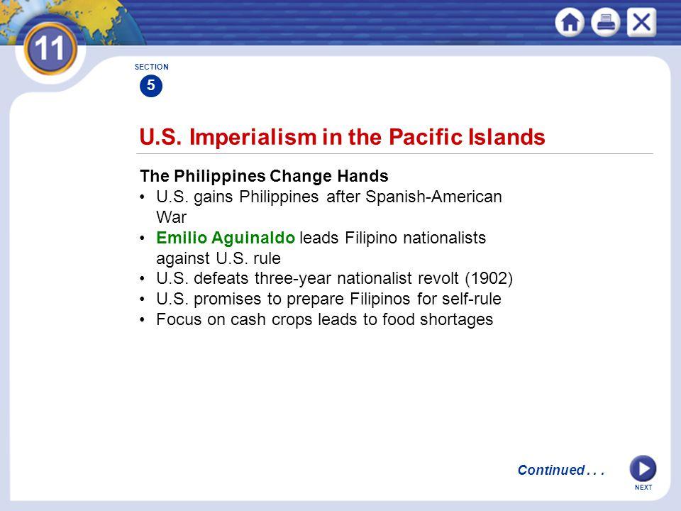 U.S. Imperialism in the Pacific Islands